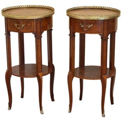 Pair of Inlaid Bedside Tables, PBT4