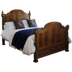 Walnut Chateau Bed, WK101