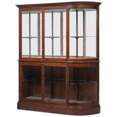 Victorian Mahogany Display Cabinet, circa 1900