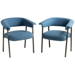 Pair of Model P18 Armchairs by Gastone Rinaldi for RIMA, circa 1960