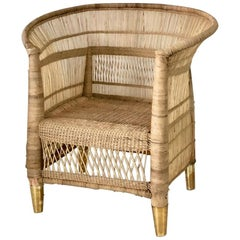 Handwoven Cane Malawi Chair