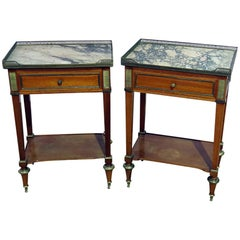 Pair of Jansen Louis XV Style Side Tables