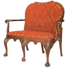 English Chippendale Style '18th-19th Century' Mahogany Loveseat