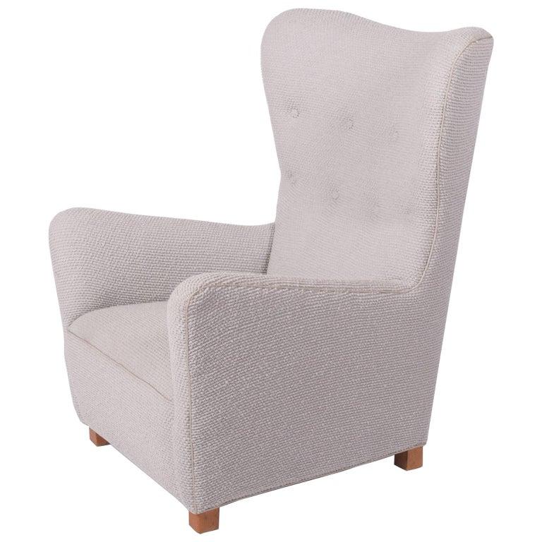 Fritz Hansen Easy Chair Model, 1672