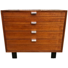 Superb George Nelson Walnut Dresser for Herman Miller