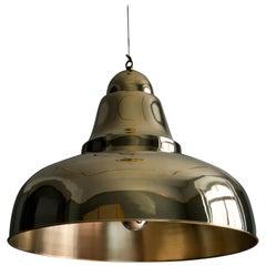 21st Century, Ovni58, Gold Pendant Lamp