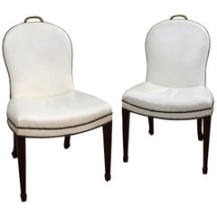 Pair of  American 1930s 'Cafe Society' Chairs
