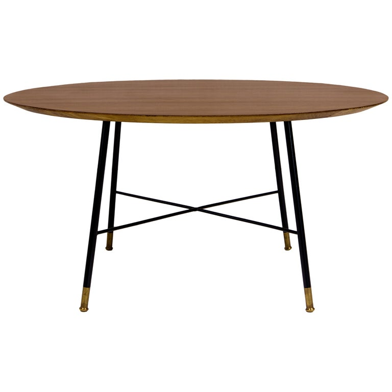 Ico Parisi Circular Coffee Table for Cassina, Italy, circa 1950