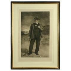 Golf Portrait, Charlie Hunter of Prestwick