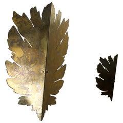 Contemporary, Ilex, Brass Wall Lamp