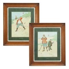 John Hassall Golf Prints