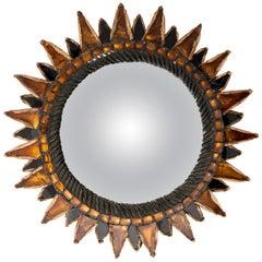 """Line Vautrin Convex Mirror """"Soleil a Pointes N°1"""""""