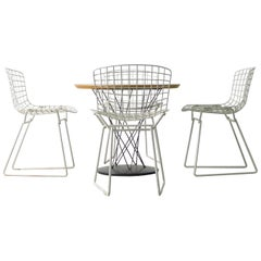 Isamu Noguchi & Harry Bertoia, Vintage Kids Dining Suite by Knoll