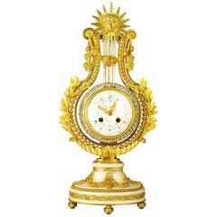 Fine Ormlou Lyre Clock