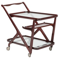 Cesare Lacca Bar Cart Cassina, 1950s