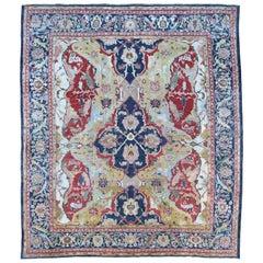 Antique Ziegler Carpet, Rare 17th Century Polonaise Design