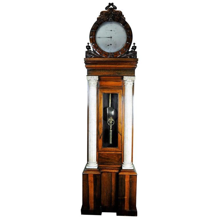 Palatial Regulator Longcase Clock