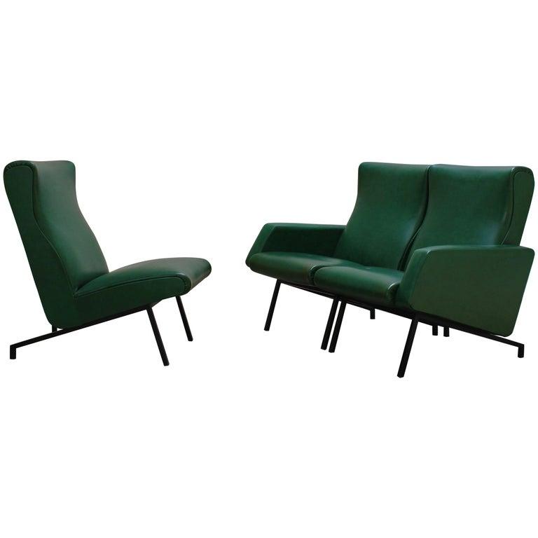 Segmented Sofa Set by Pierre Guariche for Meurop, 1950s