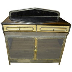 Medical Cabinet from the Art Deco Period, circa 1920s