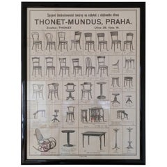 Old Thonet Furniture Poster