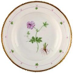 Royal Copenhagen Flora Danica Style, Deep Plate