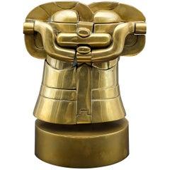 Miguel Ortiz Berrocal Richelieu Puzzle Brass Sculpture