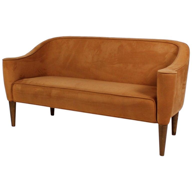 Josef Hoffmann Wiener Werkstätte Style Terracotta Sofa Settee 1980 Italy For