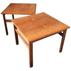 Illum Wikkelsø, Pair of Coffee Tables