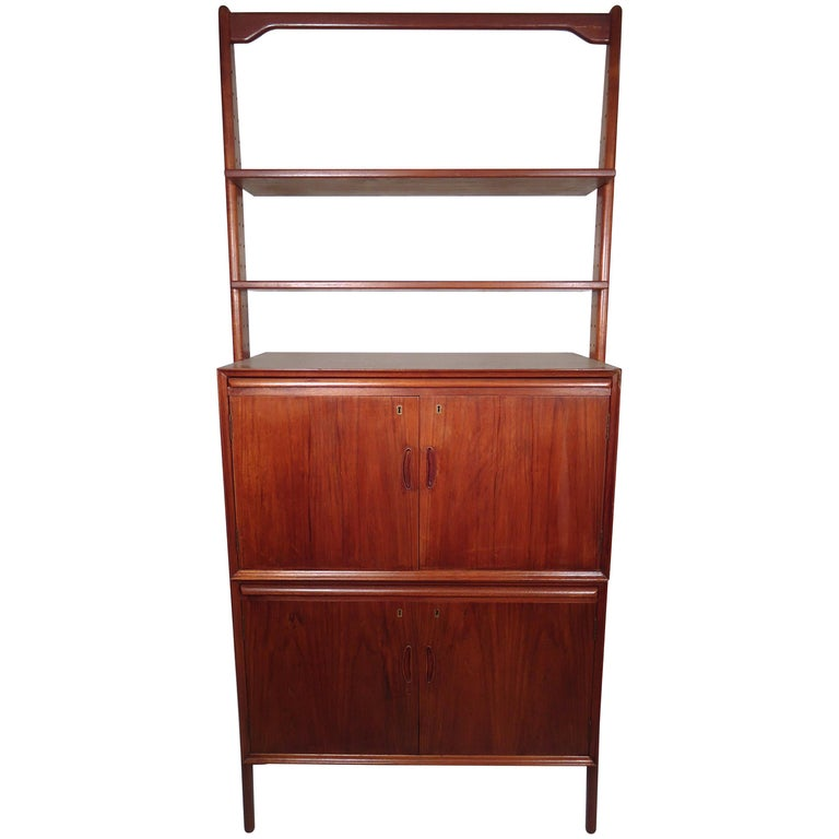 Mid-Century Modern Danish Wall Unit