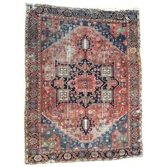 Large Antique Rugs Heriz Rug Persian Carpets Antique Rugs from Persia