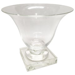 Large Steuben Glass Urn from the 1930s
