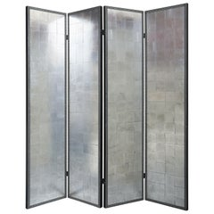 Four-Panel Silvered Screen