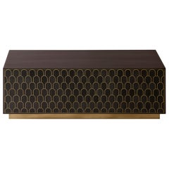 Bethan Gray Nizwa Block Table Charcoal or Brass
