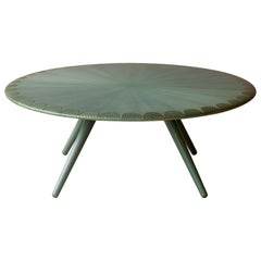 Bethan Gray Masirah Coffee Table Jade or Brass