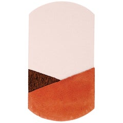 Oci Center Rug in Brown Coral by Seraina Lareida for Portego