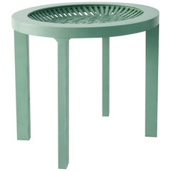 Bigoli Small Table in Green by Ilaria Innocenti & Giorgio Laboratore for Portego