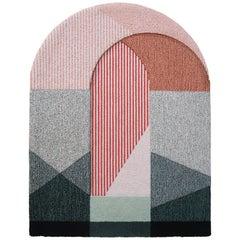 Sottoportico Rug in Medium Pink by Seraina Lareida for Portego
