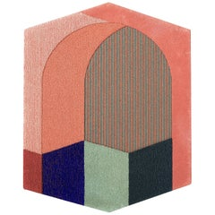 Sottovolto Rug in Red by Seraina Lareida for Portego