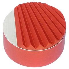 Miniportrait Jewelry Box in Red by Ilaria Innocenti & Giorgio Laboratore