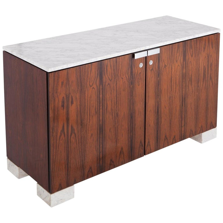 De Coene Cabinet in  Walnut and Marble