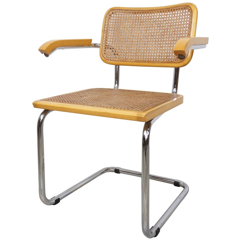 Armchair Cesca B64 Model French Design Marcel Breuer For Sale