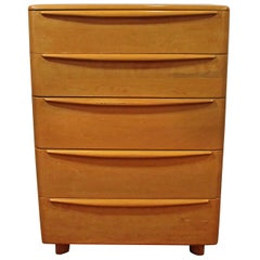 Mid-Century Modern Heywood Wakefield 'Encore' Champagne Bachelor Chest