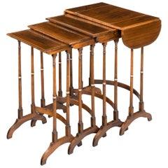 Quartetto of Regency Period Tables