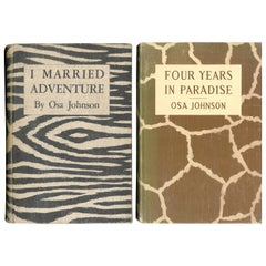 """FOUR YEARS IN PARADISE & I MARRIED ADVENTURE"" Two Books"