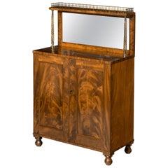 Regency Period Collectors Cabinet / Chiffonier