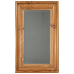 Antique Country Pine Mirror