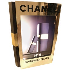 Large Original Retail Advertisement Display with Light for Chanel No. 5