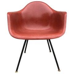 Herman Miller Eames Armchair in Terra Cotta