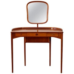 Carl Malmsten Vanity Table with Mirror