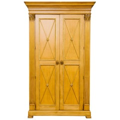 Very Tall E.J. Victor Classical Armoire